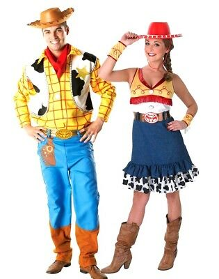 £37.95 • Buy Adult Disney TOY STORY Fancy Dress Costume Deluxe Jessie Or Woody Book Day Party