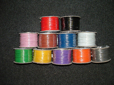 £3.96 • Buy 13M Mixed Pack Equipment Wire 16/0.2mm Strand Electronic Electric Cut Length