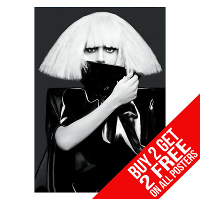 Lady Gaga The Fame Monster Poster A4 A3 Size Bb2 Print - Buy 2 Get Any 2 Free • 8.99£
