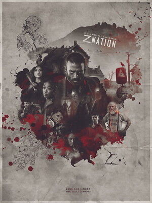 AU6.99 • Buy 024 Z Nation  - Zombies Blood Season 1 2 3 4 5 USA TV Show 14 X18  Poster