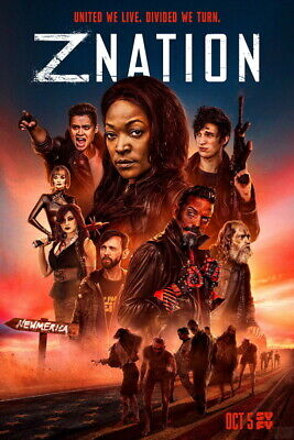 AU9.99 • Buy 015 Z Nation  - Zombies Blood Season 1 2 3 4 5 USA TV Show 24 X36  Poster