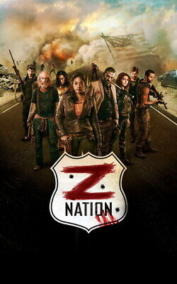 AU9.99 • Buy 017 Z Nation  - Zombies Blood Season 1 2 3 4 5 USA TV Show 24 X38  Poster