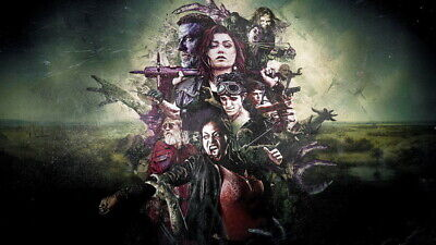 AU9.99 • Buy 021 Z Nation  - Zombies Blood Season 1 2 3 4 5 USA TV Show 42 X24  Poster
