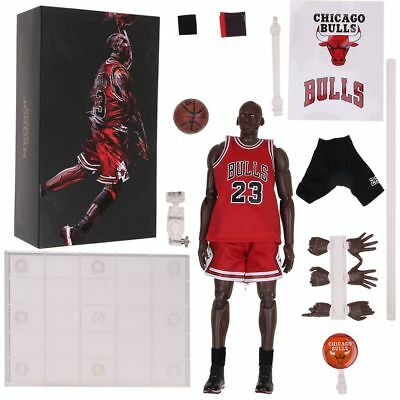 NBA Michael Jordan 1 9 Scale 9 Inch 23 Red Action Figure Best Gift New b9f038457