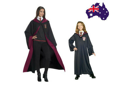 AU21.99 • Buy AU Christmas Harry Potter Adult Kids Gryffindor Robe Fancy Dress Costume Cosplay
