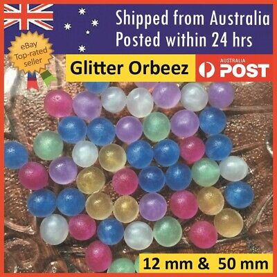 AU5.99 • Buy Orbeez Crystal Water Balls Pearls Glitter Jelly Gel Beads Party Giant Orbeez