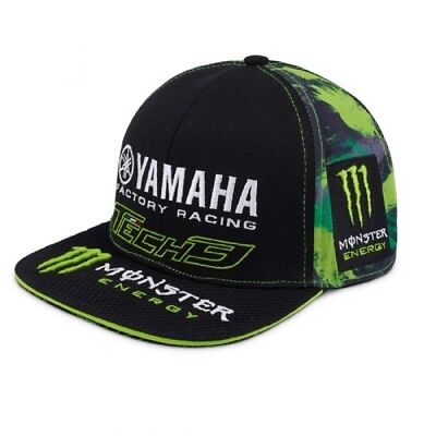 Cap Berretto Piatto Monster Energy Camouflage Bike Superbike Yamaha Tech3  IT • 29.99€ c70142c3f66d