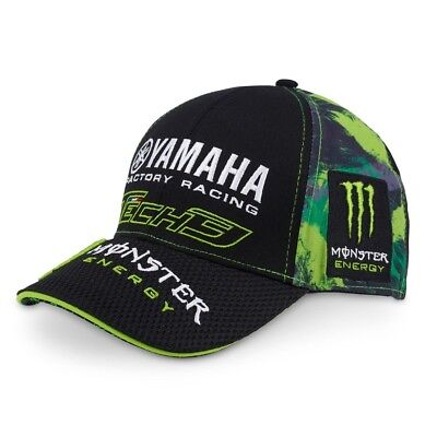 Cap Berretto Curvo Monster Energy Camouflage MotoGP Superbike Yamaha Tech3  IT • 29.99€ 2a53304d1af1