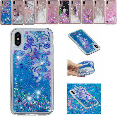 AU16.55 • Buy For IPhone XS Max XR 5S 7 8Plus Glitter Bling Quicksand Pattern Soft Case Cover