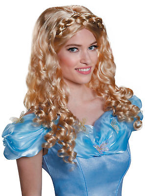 £11.17 • Buy Cinderella Wig For Adults/Teens Royal Locks Blonde New By Disguise 87022