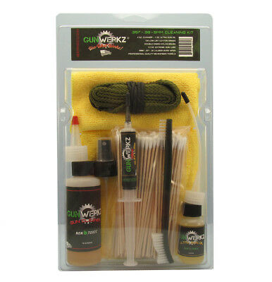 $ CDN60.40 • Buy .38/.357/9mm Caliber Cleaning Kit-Non Toxic & Non Flammable Cleaner & Oil