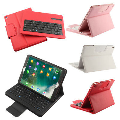 AU46.01 • Buy Removable Qwerty Bluetooth Keyboard Stand PU Leather Case For IPad Pro 10.5  PAD