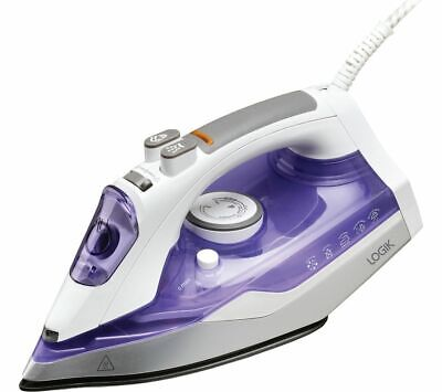 View Details LOGIK L200IR17 Steam Iron - Purple - Currys • 9.99£
