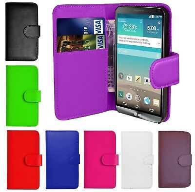 Book Wallet Flip PU Leather Stand Card Case Cover For Various Huawei Phones • 3.95£