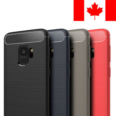 $ CDN12.99 • Buy Brushed Tpu Soft Case Cover Skin For Samsung Galaxy S9