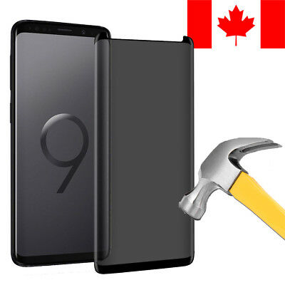 $ CDN7.99 • Buy Privacy Anti-spy Tempered Glass Screen Protector For Samsung Galaxy S9+ (s9 Plus