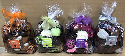 Global Home Accents Scented Fragranced Pot Pourri Gift Bag Glitter Ball 6 Scents • 6.99£