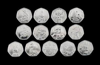 2016, 2017, 2018 Uncirculated Beatrix Potter 50p Fifty Pence - Choose Your Coin • 9.99£