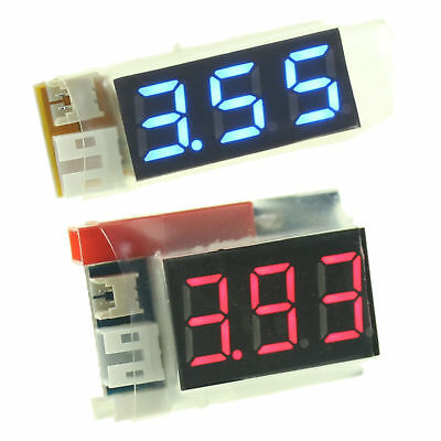 £4.50 • Buy 7-Segment Display Battery Status Indicator For 1S LiPO RC Battery Voltage Tester