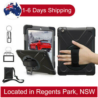 AU31.99 • Buy Heavy Duty Shockproof Case For IPad 2 3 4 Pro 9.7'' 10.5 Mini 4 3 2 1 With Stand