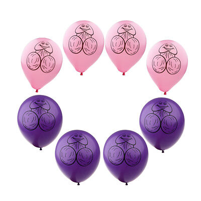AU8.76 • Buy 8pcs Latex Willy Bachelorette Party Balloons Hen Stag Night Party Decoration