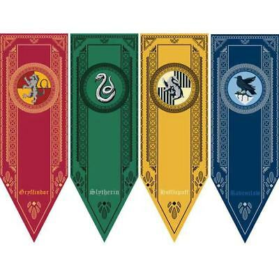 AU9.99 • Buy Harry Potter House Banner Flag Gryffindor Ravenclaw Home Wall Hanging Emblem AU