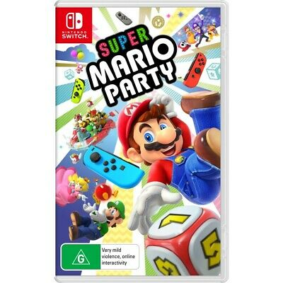 AU69 • Buy Super Mario Party Nintendo Switch Game Brand New