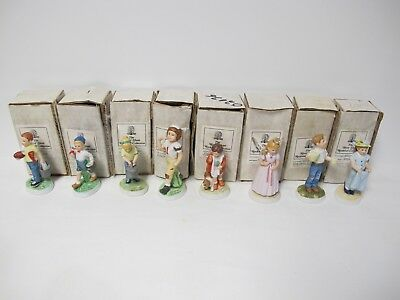 $ CDN65.44 • Buy Collection LOT Of 8 Norman Rockwell The River Shore Rockwell Collection Figurins