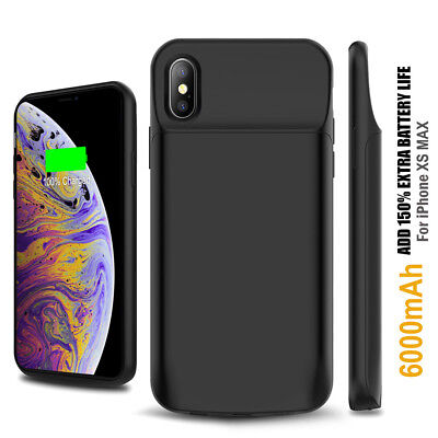 AU48.99 • Buy Apple IPhone 12 XS Max XR External Battery Fast CHARGING Case IPhoneSE2 7 8Plus