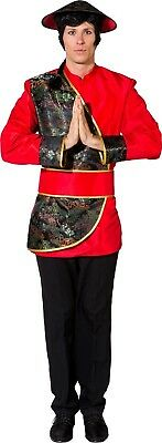 Mens Traditional Chinese New Year National Dress Fancy Dress Costume Outfit • 27.99£