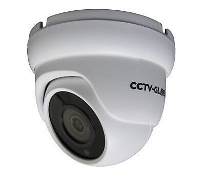5MP IP NETWORK CCTV WHITE DOME POE CAMERA, 2.8mm FIXED LENS UP TO 20m IR • 53.99£