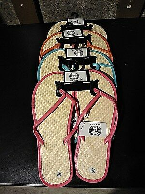 £6.17 • Buy New Women's Bamboo P & W New York Flip Flop Sandals. Beach, Gym, Pool Party