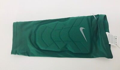 58431ef6fa Nike Hyperstrong Basketball Compression Padded Shin Sleeve Green 629884-341  NEW! • 15.99$