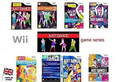 Wii Just Dance Game Series -Fast Delivery- 1 2 3 4 Kids Disney Party 500+Sold U • 6.95£