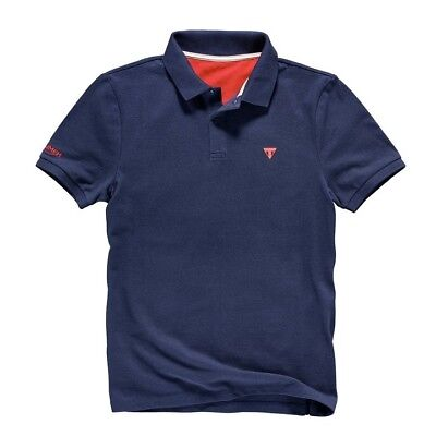 Triumph Navy Polo Shirt MPOS17057-S • 15£