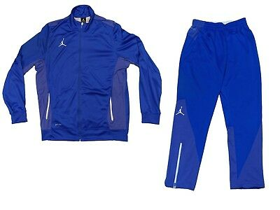b19639c2ecab Nike Jordan Flight Team Suit Set Jacket And Pants Royal Blue Sportswear  Large • 119.99