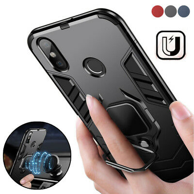 AU6.76 • Buy For Xiaomi Redmi Note 8 7 Pro Mi A3 9T Magnetic Ring Holder Stand Hard Case Case