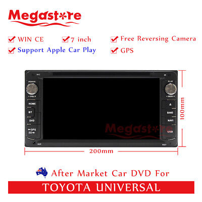 AU436.05 • Buy 7  Car DVD GPS Head Unit Stereo For Toyota Universal Apple Car Play Android Auto