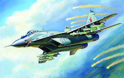 ZVEZDA 7278 MIG-29 Russian Fighter (9-13) Plastic Kit 1/72 Scale T48 Post • 28.25£