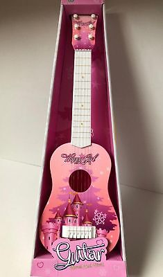 Childrens Guitar Childs Kids Wooden Plastic Acoustic Musical Instrument Toy • 14.99£