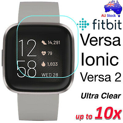 AU4.99 • Buy Premium Ultra Clear Screen Protector Film For Fitbit Versa 3 Ionic Sense Charge