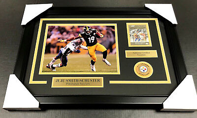 1d801f87f2b Juju Smith Schuster Autographed Card Auto Framed 8x10 Photo Pittsburgh  Steelers • 99.00