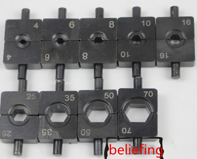 $ CDN9.63 • Buy New 1pc 6mm Crimping Clamp Die Hydraulic Pressure YQK-70 Mold