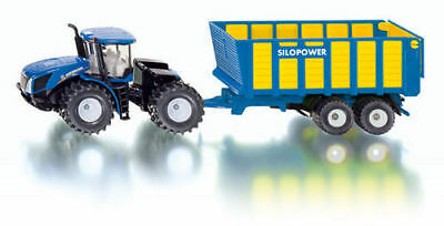 Siku New Holland T9.560 Tractor With Silage Trailer 1:50 • 29.65£