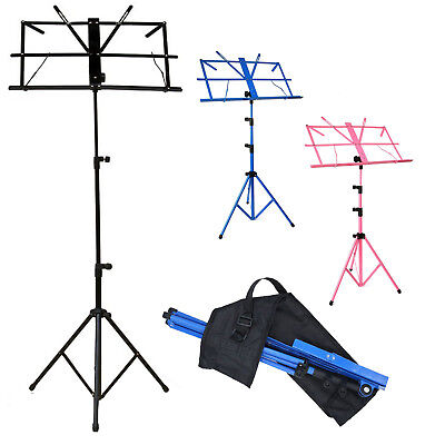 Heavy Duty Foldable Music Stand Holder Base Tripod Orchestral Conductor Sheet Uk • 6.89£