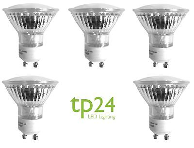 5x Tp24 Tp8710 Replaces Tp2882 3.5W GU10 L1 Replacement LED Bulbs 3000K 330lm • 35£