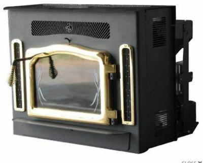$4025.27 • Buy Crossfire Flex-Fuel Stove With Fireplace Insert And Gold Door