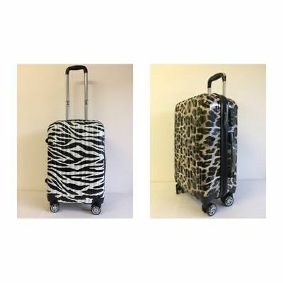 Hard Shell Cabin Hand Luggage Suitcase Travel Bag Ryanair Easyjet Wheeled Cases. • 30.99£