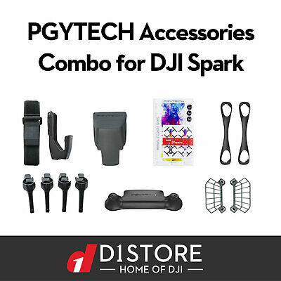 AU39 • Buy PGYTECH Accessories Combo For DJI Spark Aus Stock Fast Delivery