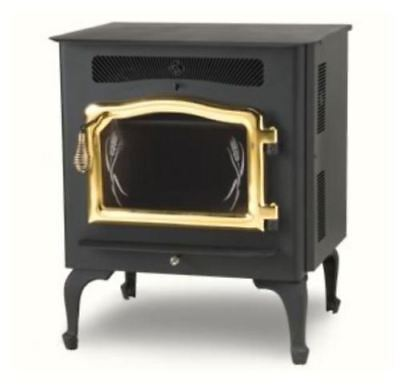 $3043.24 • Buy Country Flame Little Rascal Wood Pellet Stove With Gold Door & Legs